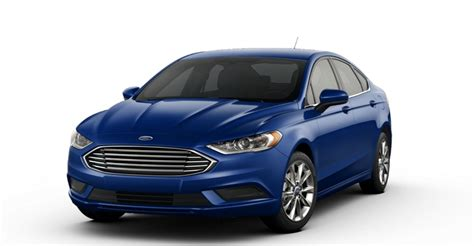 ford fusion colors 2017 ford fusion color options