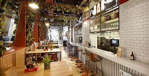 Cuisine Style Industriel Vintage : design retro industriel dans le restaurant italien davita ~ Teatrodelosmanantiales.com Idées de Décoration