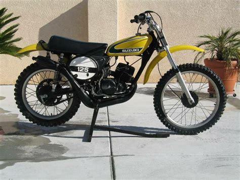 restored vintage motocross bikes for sale 1974 suzuki tm125 nicely restored vintage dirt