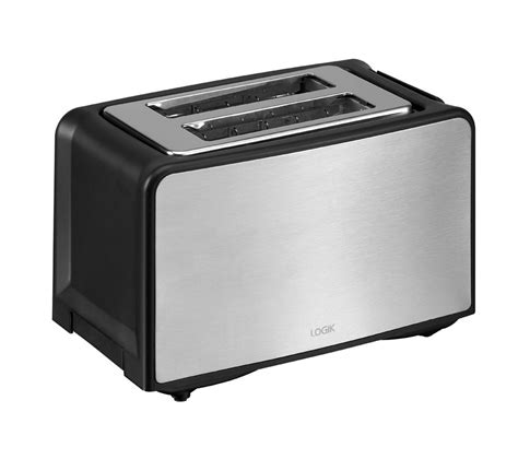 2 Slice Toaster by Buy Logik L02tbs13 2 Slice Toaster Stainless Steel