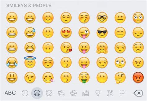 all iphone emojis ios 9 1 includes new emojis