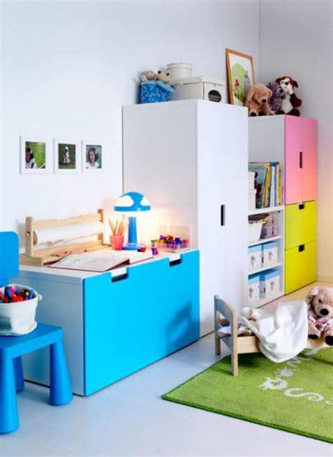 customiser un bureau meuble rangement enfant ikea stuva