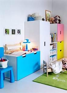 Rangement Chambre Enfant : meuble rangement enfant ikea stuva ~ Teatrodelosmanantiales.com Idées de Décoration