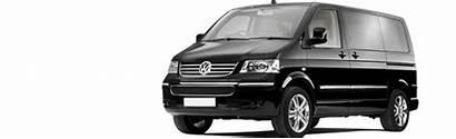 Minibus Caravelle Volkswagen Taxi Cyprus Fleet