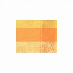 Set De Table Jaune : 2 set de table 40x50 100 coton oiseaux jaune oran ~ Teatrodelosmanantiales.com Idées de Décoration