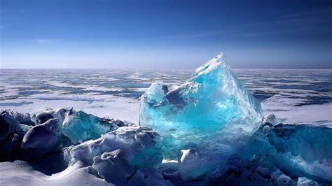 Baikal Blue Ice 4k Ultrahd Wallpaper Wallpaper Studio 10