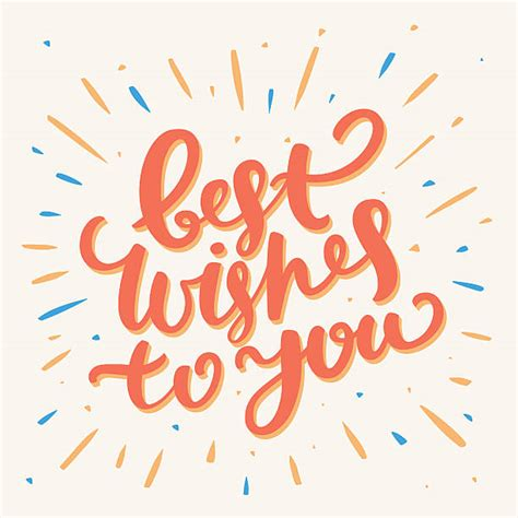 best wish best best wishes illustrations royalty free vector