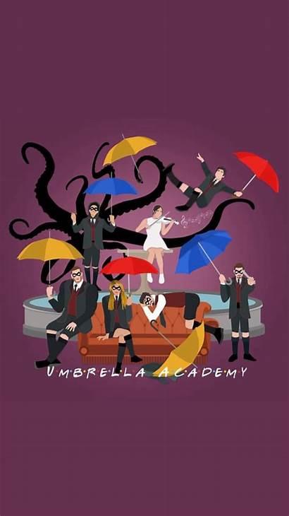 Umbrella Academy Number Pantalla Fondos Wallpapers Friends