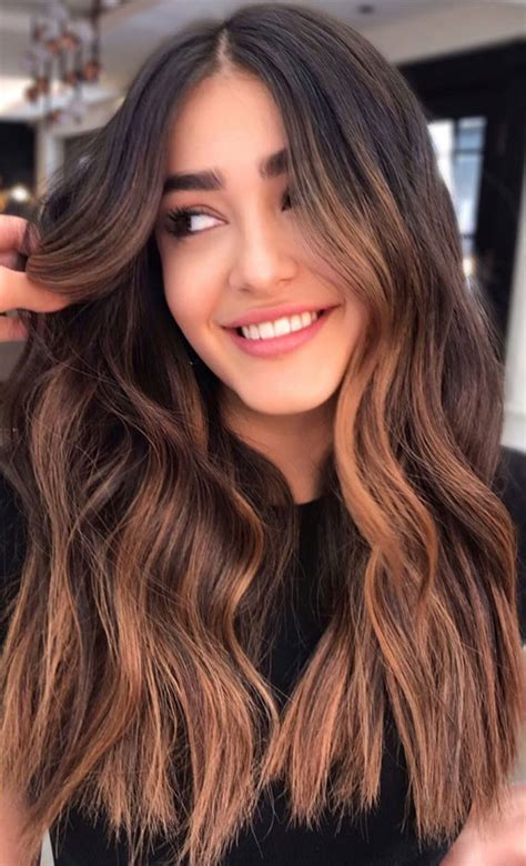 15 Chocolate brown hair color with caramel highlights ...