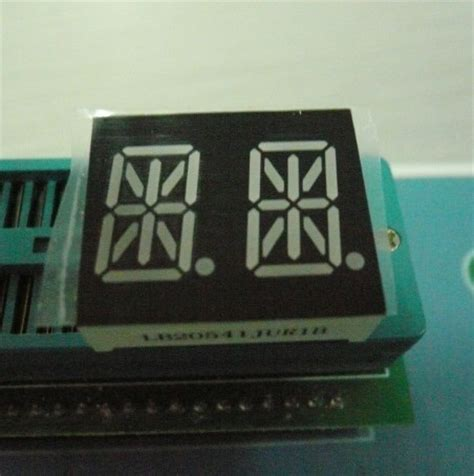 14 Segment Alphanumeric Led Displays Pin Out And Internal