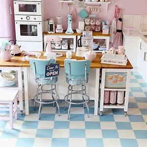 retro pastel kitchen colors that39ll make you squeal With kitchen colors with white cabinets with making a candle holder