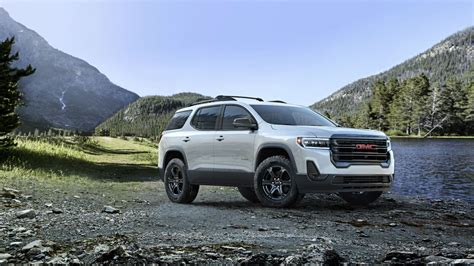2019 gmc acadia 9 speed transmission 2020 gmc acadia redesigned crossover offers new tech