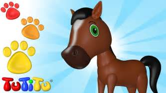 tutitu animals animal toys  children horse