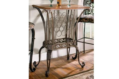 Pub Table With Wine Rack At Gardner-white