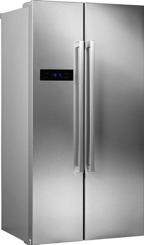 side to side kühlschrank hanseatic side by side hsbs17990a3 179 cm hoch 90 cm breit a 4 jahre garantie