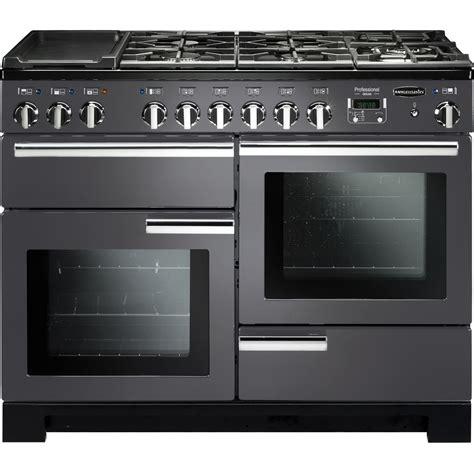 buy rangemaster pdl110dffsl professional deluxe 110 dual fuel range cooker slate discount