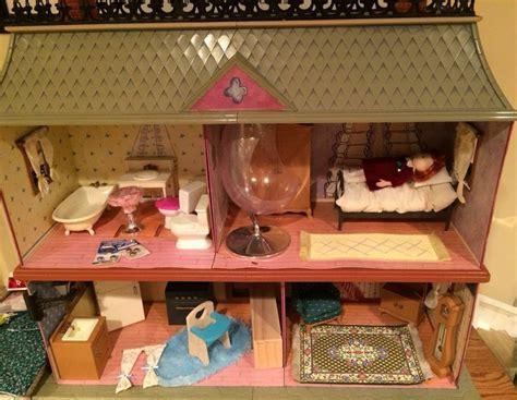 Vintage Eden Madeline Old House in Paris Dollhouse Doll