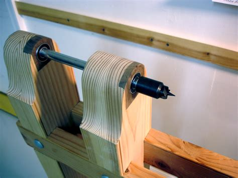 wood lathe head spindle  woodworking