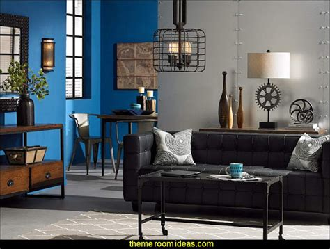 decorating theme bedrooms maries manor industrial style