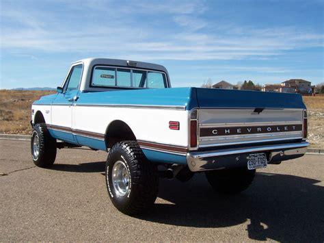 Big Block 4x4 Restored 1972 Chevrolet K10 4speed Bring