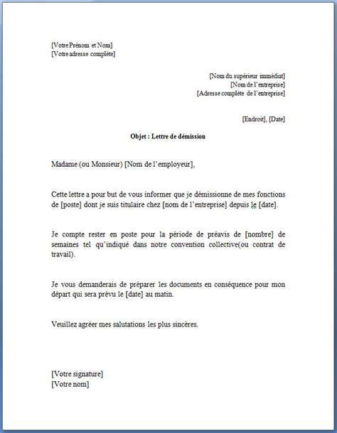bureau de poste belgique modele lettre de demission immediate