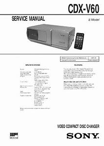 Sony Cdx Gt310 Wiring Diagram For