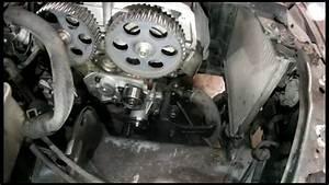 Kia Spectra Sephia Timing Belt Water Pump Replace