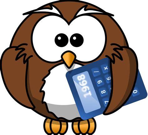 owl math clipart clipart owl with calculator