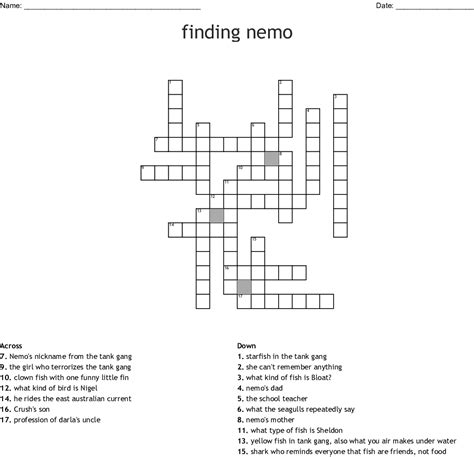 finding nemo word search wordmint