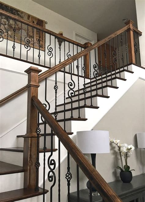 iron banisters 16 1 1 single twist iron baluster stairsupplies