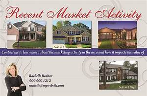 Real estate marketing postcards flyers brochures for for Real estate just sold flyer templates