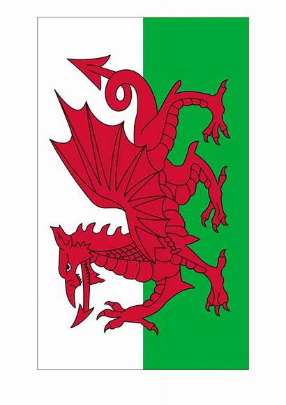 Flag Wales Template Printable A4 Allbusinesstemplates Templates