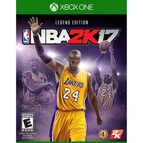 2k Games Nba 2k17 Legend Edition Xbox One Walmart