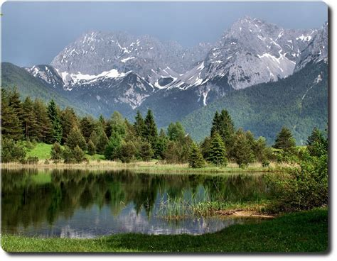 Panoramio  Photo Of Karwendel And Luttensee
