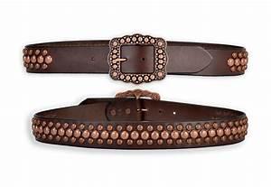 Copper Pony Ladies Spotted Belt