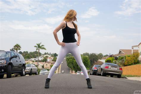 big ass teen in pantyhose and spandex panties