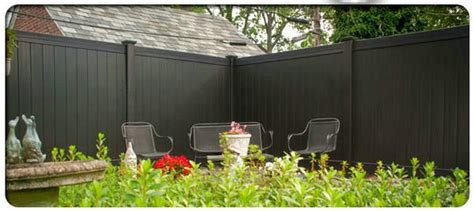 black privacy fence  chinese composite wood fence supply