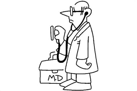 doctor black and white 9 doctor cliparts free vector eps jpg png format