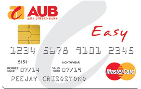 5 steps of applying for an aub credit card. AUB Easy MasterCard - No Annual Fee For Life!   eCompareMo