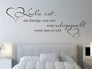Wandtattoo Liebe Ist Das Einzige Was Sich Wandtattoosde