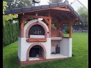 pizzaofen und gartengrill selber bauen beste garten ideen With französischer balkon mit pizza steinbackofen garten