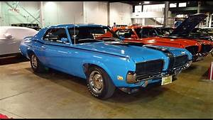 1970 Mercury Cougar Eliminator Boss 302 In Blue Paint On