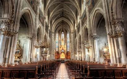 Cathedral Interior Hdr Inside Wallpapers Architecture Background