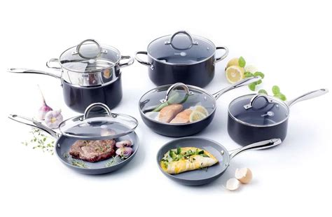 cookware ceramic pans lima frying