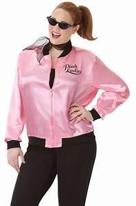 Pink Ladies Jacket 1950's 50s Grease Costume T-bird ...