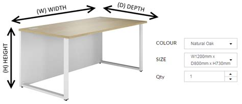 how tall is a desk understanding office furniture measurements kit out my