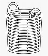 Basket Laundry Coloring Checklist Clipart Evaluation Pngkey Clipartkey Transparent sketch template