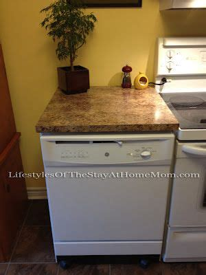 dishwasher with countertop 25 best ideas about portable dishwasher on