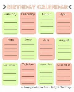 Downloadable Teacher Planner Free Printable Birthday Calendar A Perpetual Calendar