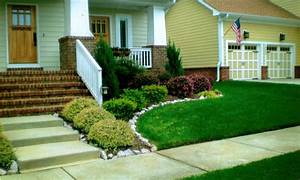 Backyard design ideas simple front yard landscaping